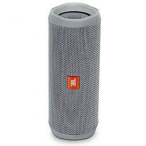 Caixa de Som Portátil JBL Flip 4 Cinza