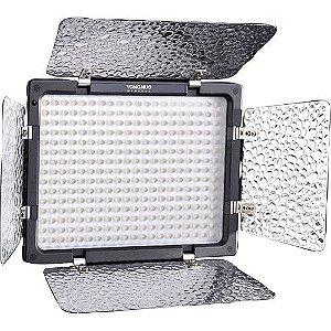 Iluminador LED Yongnuo YN-300 sem Carregador de Bateria