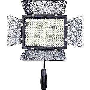 Iluminador LED Yongnuo YN-300 II sem Carregador de Bateria