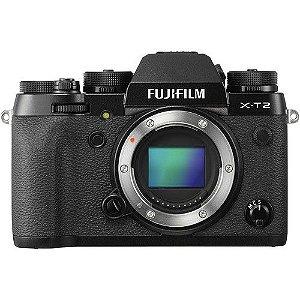 Câmera Fujifilm Mirrorless X-T2 Preto somente corpo