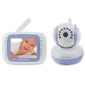 Babá Eletrônica Powerpack modelo MTV-368 LCD 3.5 polegas Azul