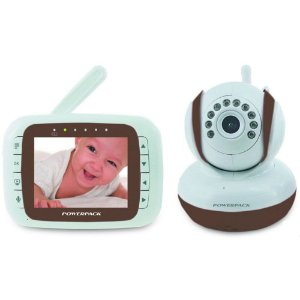Babá Eletrônica Powerpack modelo MTV-368 LCD 3.5 polegas Marrom