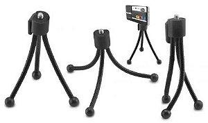 Tripé Powerpack Flexible TP-1201 Altura 11.4CM