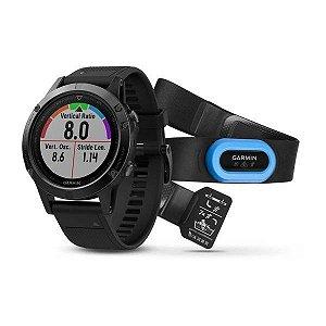 Relógio Garmin GPS Fenix 5X Sapphire