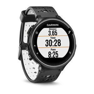 Relógio GPS Garmin Forerunner 230 sem cinta Preto/Branco