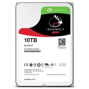 HD Interno Seagate IronWolf NAS 10Tb SATA III 6 Gb/s ST10000VN0004