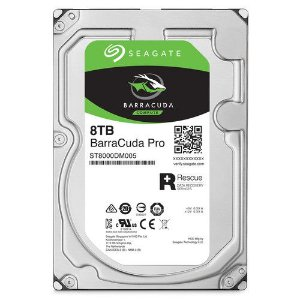 HD Interno Seagate BarraCuda Pro 8Tb SATA III 6 Gb/s ST8000DM005