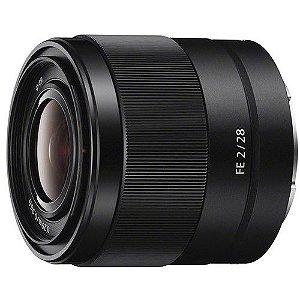 Lente Sony SEL FE 28mm f/2
