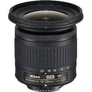 Lente Nikkor AF-P DX 10-20mm f/4.5-5.6G VR