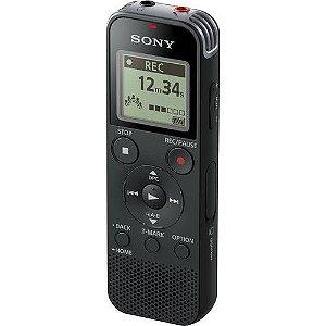 Gravador Digital de Voz Sony ICD-PX470 com USB e 4Gb de Memória Interna