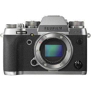 Câmera Fujifilm Mirrorless X-T2 Prata somente corpo