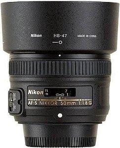 Lente Nikkor AF-S FX 50mm f/1.8G