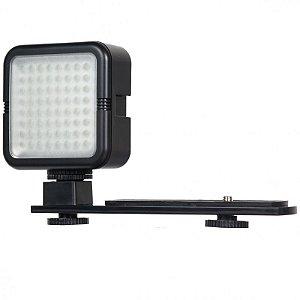 Luz LED Yongnuo SYD-0808 64 LEDs / 5500k / 480 Lumens