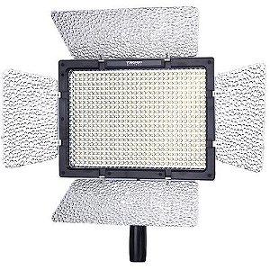 Luz LED Yongnuo YN600L II 5500k 600 Lâmpadas LED 4800 Lumens 50000hrs