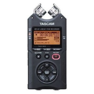 Gravador Digital Profissional Tascam DR-40