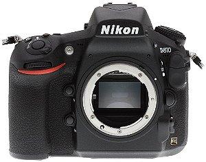 Câmera Nikon FX D810 somente corpo