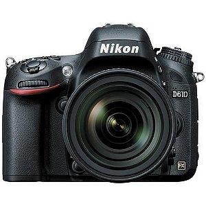 Câmera Nikon FX D610 com Lente AF-S 24-85mm f/3.5-4.5G ED VR