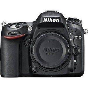 Câmera Nikon DX D7100 somente corpo