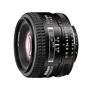 Lente Nikkor AF FX 50mm f/1.4D