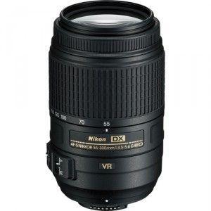 Lente Nikkor AF-S DX 55-300mm f/4.5-5.6G ED VR