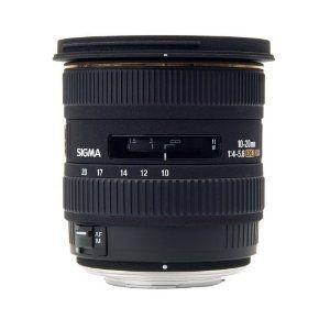 Lente Sigma DC 10-20mm f/4-5.6 EX para Canon