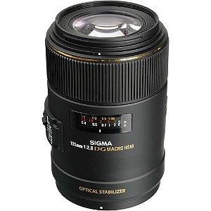 Lente Sigma DG 105mm f/2.8 MAC OS HSM para Canon