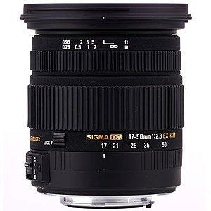 Lente Sigma DC 17-50mm f/2.8 EX OS HSM para Nikon