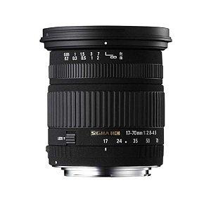 Lente Sigma DC 17-70mm f/2.8-4 Macro OS HSM para Canon