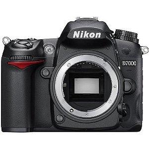 Câmera Nikon DX D7000 somente corpo