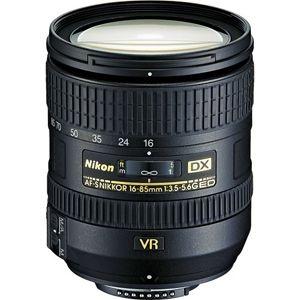 Lente Nikkor AF-S DX 16-85mm f/ 3.5-5.6G ED VR