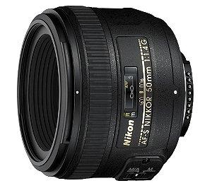 Lente Nikkor AF-S FX 50mm f/1.4G