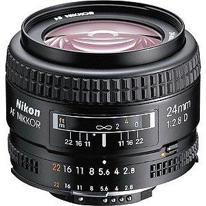 Lente Nikkor AF FX 24mm f/2.8D
