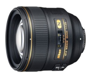 Lente Nikkor AF-S FX 85mm f/1.4G