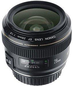 Lente Canon EF 28mm f/1.8 USM