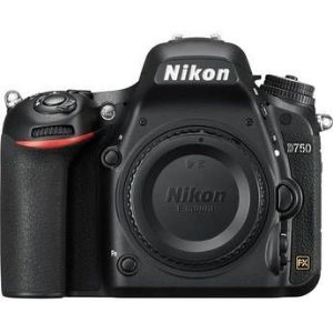 Câmera Nikon FX D750 somente corpo