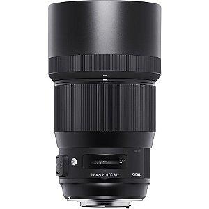 Lente Sigma DG 135mm f/1.8 HSM Série ART para Canon