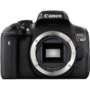 Câmera Canon EOS Rebel t6i somente corpo