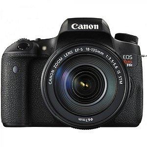 Câmera Canon EOS Rebel t6s com Lente 18-135mm STM