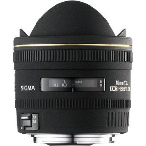 Lente Sigma DC 10mm f/2.8 FISHEYE para Nikon