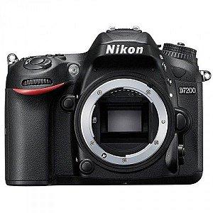 Câmera Nikon DX D7200 somente corpo