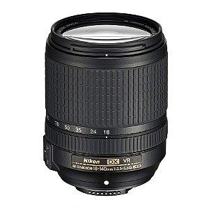 Lente Nikkor AF-S DX 18-140mm f/3.5-5.6G ED VR