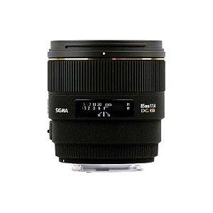 Lente Sigma DG 85mm f/1.4 EX HSM para Canon
