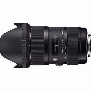 Lente Sigma DC 18-35mm f/1.8 HSM Série Art para Nikon