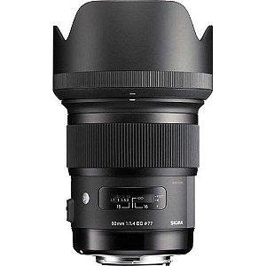 Lente Sigma DG 50mm f/1.4 Série ART para Nikon