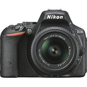 Câmera Nikon DX D5500 com Lente AF-P DX 18-55mm f/3.5-5.6G VR