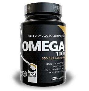 Omega 3 1000mg - 120 cápsulas gelatinosas