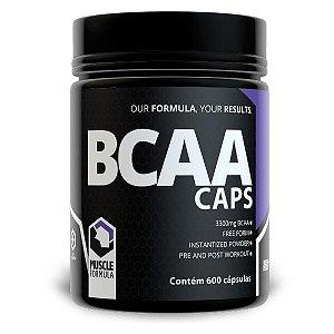 BCAA MUSCLE FORMULA - 600 CÁPSULAS
