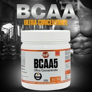 BCAA ULTRA CONCENTRADO - Pote com 500g (5g de BCAA por dose)