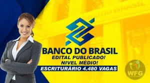 CURSO ONLINE - BANCO DO BRASIL ESCRITURÁRIO - NÍVEL MÉDIO (( EDITAL PUBLICADO ))