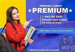 ULTIMATE PREMIUM - 1 ANO DE CURSO ONLINE - TODO EAD LIBERADO  + VADE MECUM DE BRINDE!  ! Estude para vários concursos em um só lugar!
